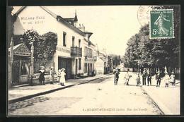 CPA Nogent-sur-Seine, Rue Des Fosses, Café De L`Agriculture - Nogent-sur-Seine