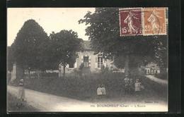CPA Bourgneuf, L`Ecole - Non Classificati