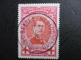 Nr133 - Rode Kruis - Var 2 - Torsade ( Rechterepaulet Gedraaid) - 1914-1915 Rode Kruis