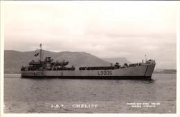 Bateau - Marius Bar Toulon - L.S.T. Landing Ship Tank - Péniche De Débarquement Chéliff - Guerra