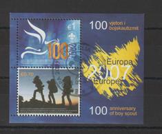 Europa 2007 Kosovo BF 6 Oblit. Used - 2007