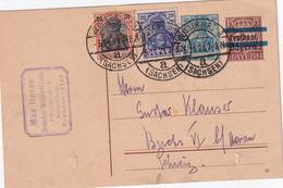 ALLEMAGNE 1921 ENTIER POSTAL/GANZSACHE/POSTAL STATIONARY CARTE  DE DRESDEN-WEISSERHIRSCH - Ganzsachen