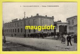 80 SOMME / VILLERS-BRETONNEUX / USINE TEXTILE TIBERGHIEN / ANIMÉE - Villers Bretonneux