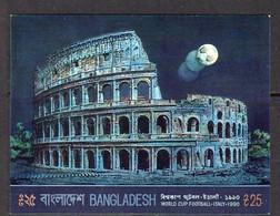 Bangladesh 1990 Football World Cup MS, MNH, SG 352 (F) - Bangladesh