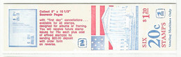 PH ++ USA UNITED STATES 1978 MCHL 96 BOOKLET FLAGS MNH - 1981-...