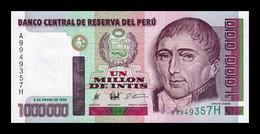 Perú 1000000 Intis 1990 Pick 148 SC UNC - Pérou