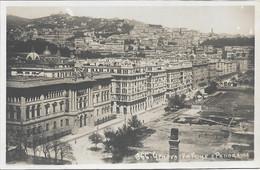 GENOVA - VIA FIUME E PANORAMA - Genova (Genoa)