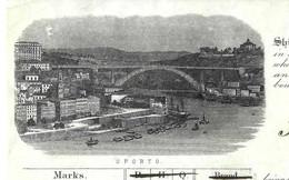 1897  De Porto Portugal Douro River BILL OF LADING CONHECIMENTO CONNAISSEMENT  => Lisbonne Bordeaux Leith Ecosse V.SCANS - Portugal