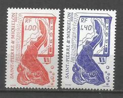 Timbre St Pierre Et Miquelon Neuf ** N 472 / 473 - Ongebruikt