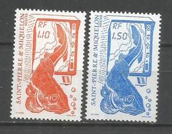 Timbre St Pierre Et Miquelon Neuf ** N 480 / 481 - Ungebraucht