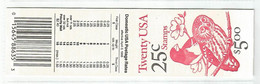 PH ++ USA UNITED STATES 1988 MCHL 124 BOOKLET  MNH - 1981-...