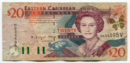 RC 20577 CARAIBES ORIENTALES $20 DOLLARS - East Carribeans