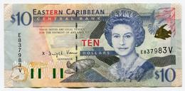RC 20578 CARAIBES ORIENTALES $10 DOLLARS - East Carribeans