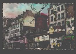 Paris - Le Moulin Rouge - Cafés, Hôtels, Restaurants