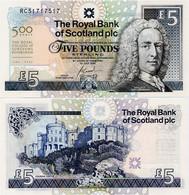 SCOTLAND - RBS       5 Pounds       Comm.       P-364       1.7.2005        UNC - 5 Pounds