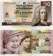 SCOTLAND - RBS       10 Pounds       Comm.       P-368       6.2.2012        UNC - 10 Pounds