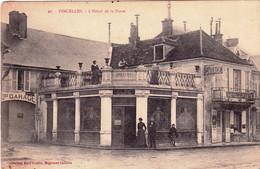 89 - Yonne - VINCELLES - Hotel De La Poste - Andere Gemeenten