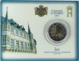 Luxembourg Coincard 2014 Unabhänigkeit - Luxembourg