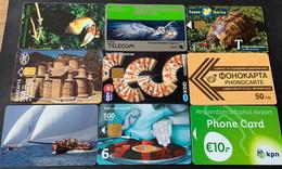 Lot Mix Verschillende Landen  - Mooie Kaarten, Verschillende Jaartallen, Geen Dubbele - Sammlungen