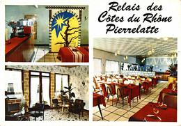 N°79921 -cpsm Relais Des Côtes Du Rhône -Pierrelatte- - Hotels & Gaststätten