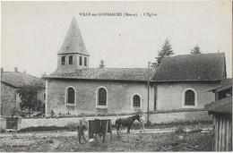 VILLE SUR COUSANCES - L'Eglise (vue Animée) - Other Municipalities