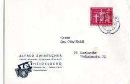 DEUTSCHE BUNDESPOST 79 Deutsche Katholikentag 1962 - Covers & Documents