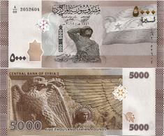SYRIA       5000 S. Pounds       P-New       2019 / AH1441 (2021)         UNC - Siria