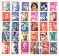France Belle Petite Collection Neufs ** MNH 1938/1940. Bonnes Valeurs. Gomme D'origine. TB. A Saisir! - Verzamelingen