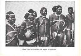 Sudan: Donne Giur /  Un Giur Davanti A Un Coccodrillo. Stampa 1934 - Sin Clasificación