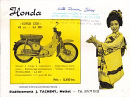 Motos  Honda  --- - Pubblicitari