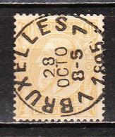 50  Oblitération Centrale BRUXELLES 7 - LOOK!!!! - 1884-1891 Leopold II.