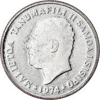 Monnaie, Samoa, 10 Sene, 1974, FDC, Argent, KM:15a - Samoa