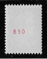 France N°1536Aa - N° Rouge - Neuf ** Sans Charnière - TB - Unused Stamps