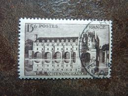 1944 Château De Chenonceaux  Y&T =  610  Oblitéré - Gebraucht