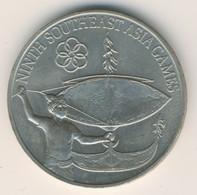 MALAYSIA 1977: 1 Ringgit, Southeast Asia Games, KM 22 - Malaysia