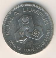 MALAYSIA 1972: 1 Ringgit, Agong V (Kuala Lumpur), KM 12 - Malaysia