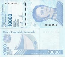 VENEZUELA       10,000 Bolívares       P-New[2]       22.1.2019 (2020)      UNC  [ 10000 ] - Venezuela