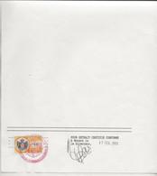 FISCAUX DE MONACO SERIE UNIFIEE  De 2002  N°112  3€ Ocre-jaune 11 Fevrier 2003 - Revenue