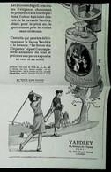 ► Publicité YARDLEY Talc Pour Joueuse  De Golf  1933 - Coupure De Presse Ancienne (Encadré Photo) - Apparel, Souvenirs & Other