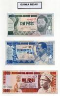 Lotto 3 Banconote Guinea Bissau - Nuove - Vedi Foto - (FDC29007) - Guinea-Bissau