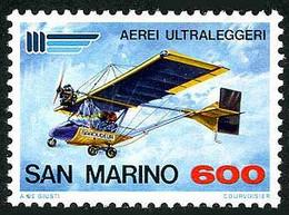 San Marino Saint Marin 1987 ULM Ultra Léger Motorisé Microlight Baroudeur  (YT , Mi 1361, SG 1302) - Aerei
