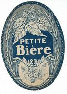 Ancienne étiquette Petite Bière - Cerveza