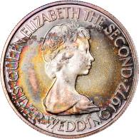 Monnaie, Jersey, Elizabeth II, 50 Pence, 1972, FDC, Argent, KM:35 - Jersey