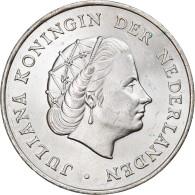 Monnaie, Netherlands Antilles, Juliana, 2-1/2 Gulden, 1964, SUP, Argent, KM:7 - Netherland Antilles