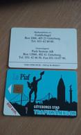 JOLIE CARTE A PUCE PIAF VILLE DE GOTEBORG (SUEDE) 1000ex DU 09/92 T.B.E !!! - Tarjetas De Estacionamiento (PIAF)