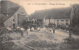 Le Morvan - Battage Des Récoltes  - Agriculture - Sin Clasificación