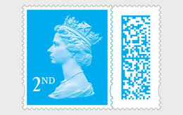 Pre Order Delivery 3-4 Weeks Great Britain 2021 MNH ** Machin 2nd Class Barcoded Stamp - Unused Stamps