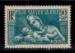 YV 419 N** Pour Sauver La Race Cote 4,50 Euros - Unused Stamps
