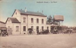 59 /   Trélon : La Gare   (petit Défaut Angles)   ///  Ref.  Mars. 21 - Sonstige Gemeinden
