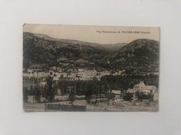 CP  1914 Vue Panoramique De Vic-sur-Cère Cantal - Aurillac